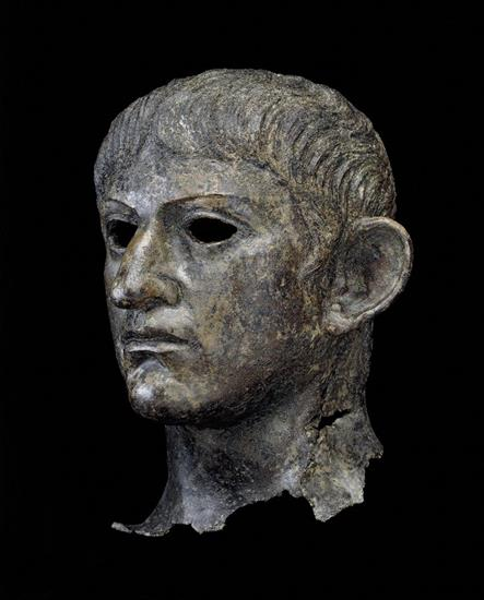 The head of Claudius